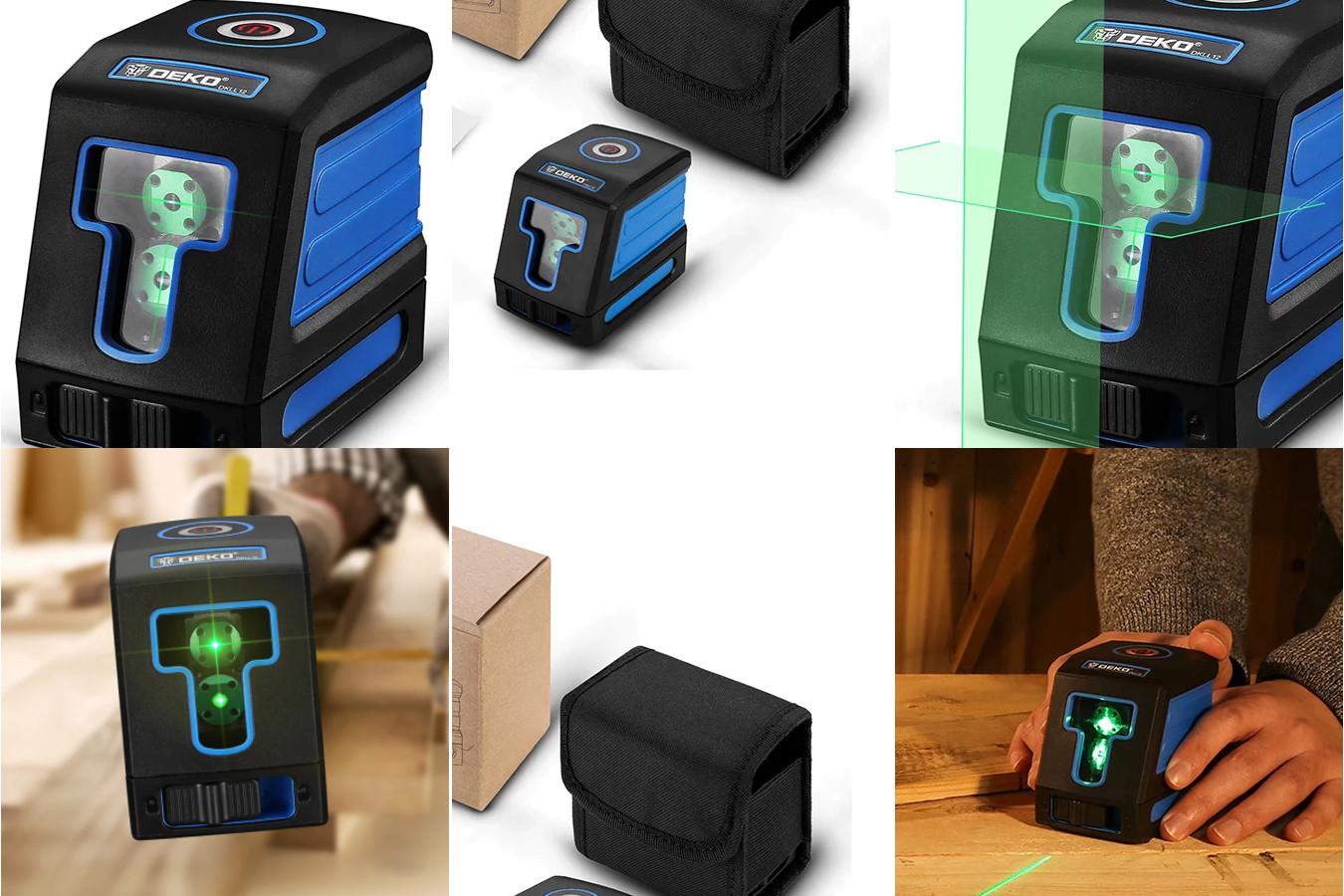 Лазерный уровень с автоматическим выравниванием — DEKO DKLL12