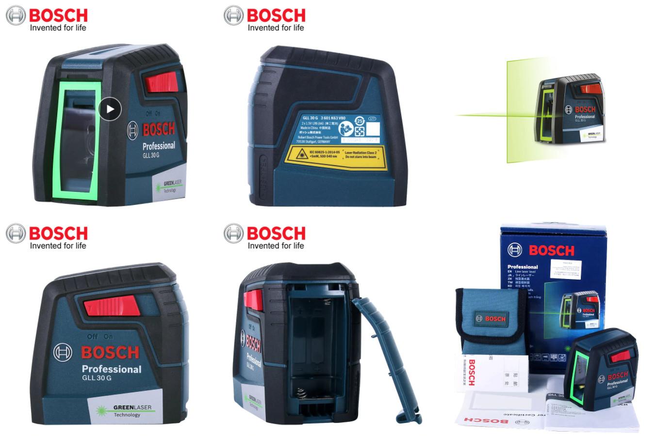 Высокоточный лазерный уровень — Bosch GLL30G