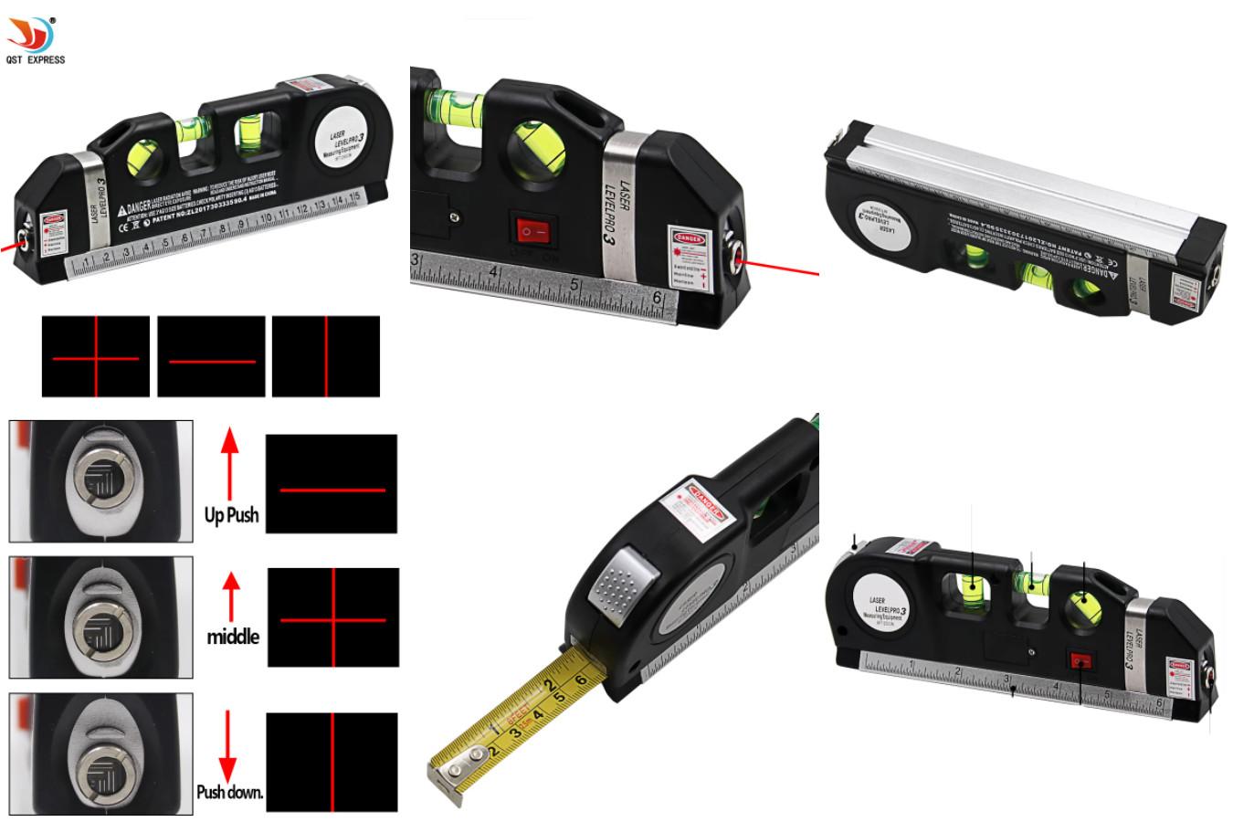 Многофункциональный лазерный уровень — QSTEXPRESS QST-K2