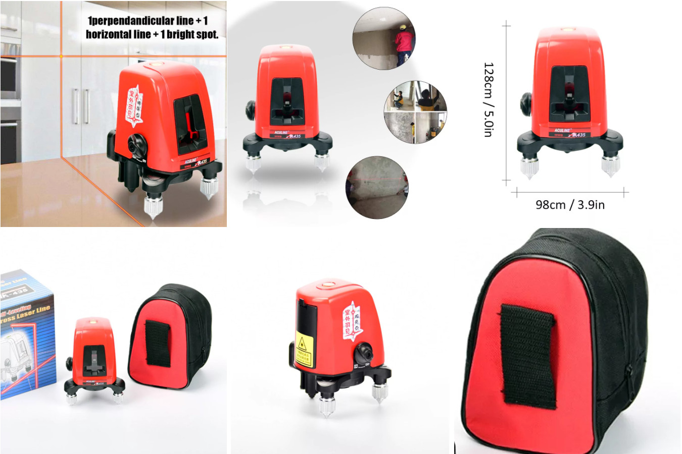Лазерный уровень для бытового применения — KKMOON AK435