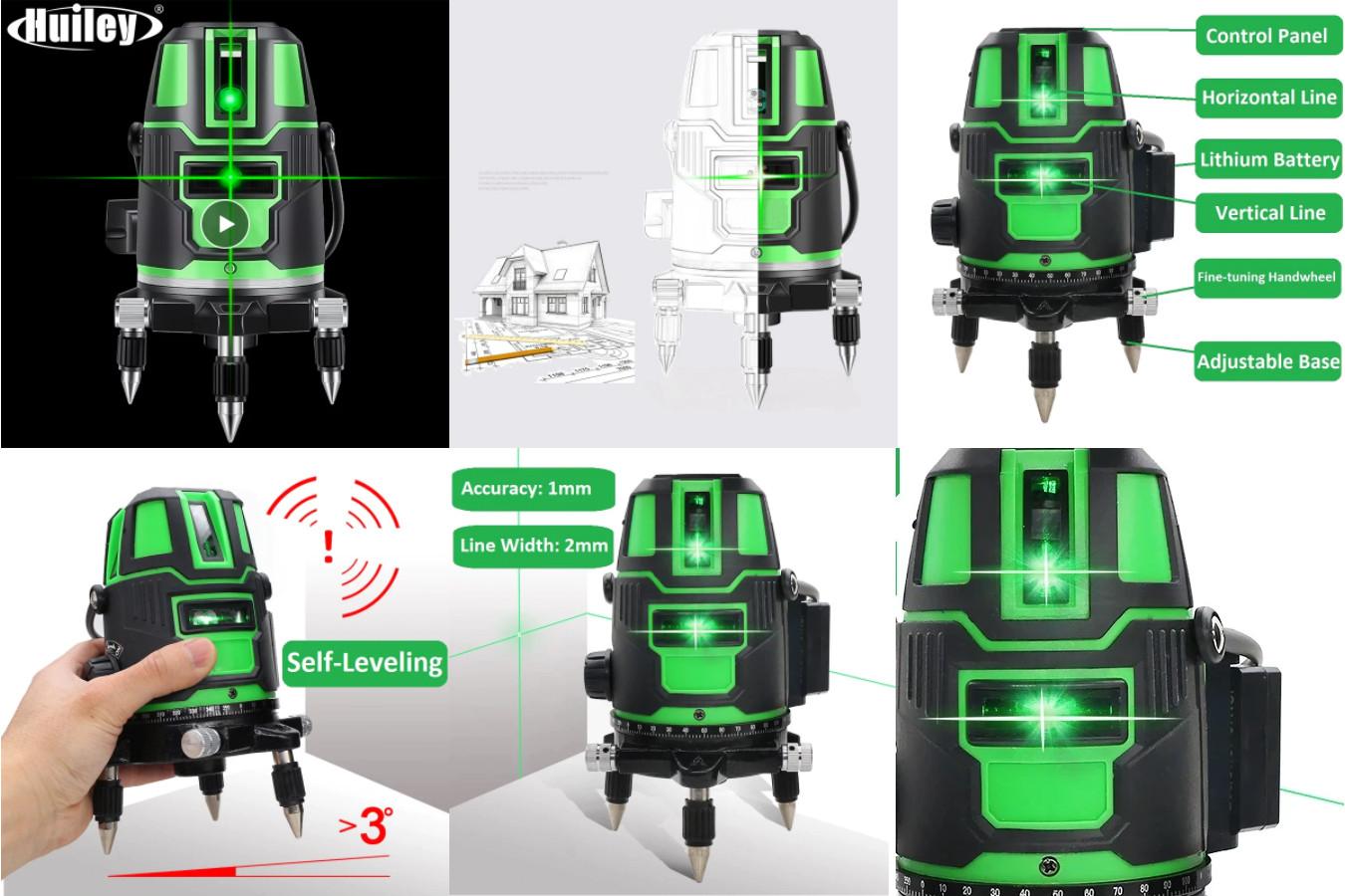 Качественный лазерный уровень — HUILEY LL-08