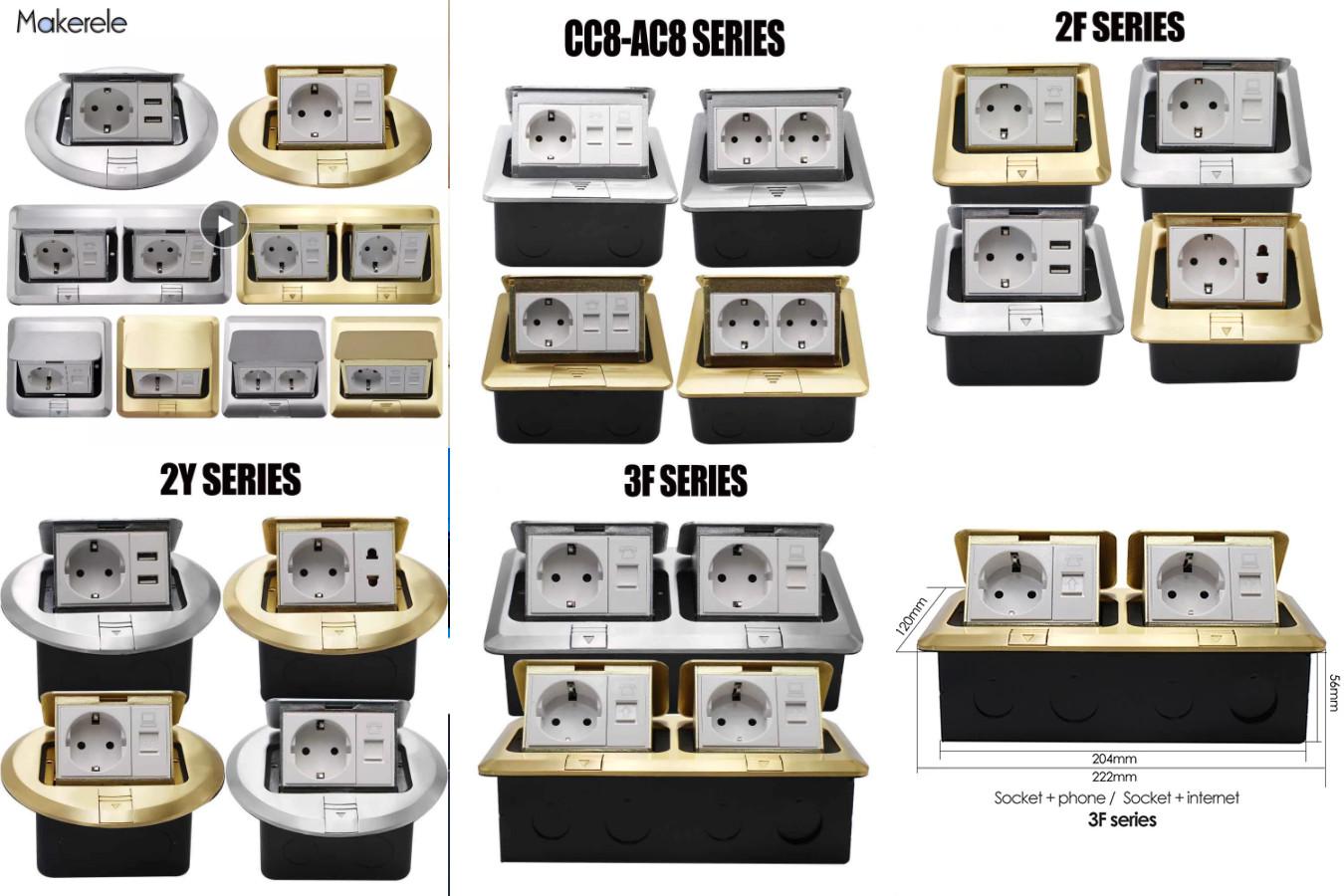 Недорогая и стильная — Makerele 2F/2Y/3F/AC8 Series