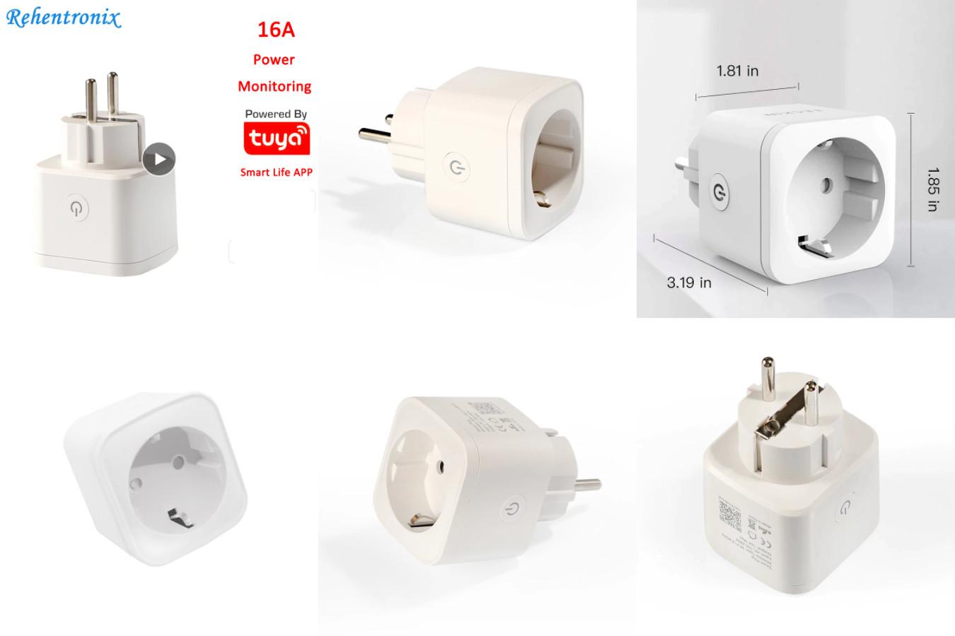 Качественная Wi-fi розетка — Rehentronix Smart Plug RH-WS048
