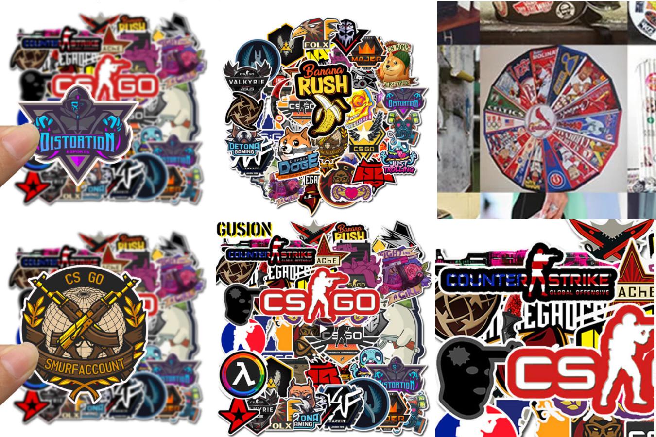 Стикеры для фанатов CS GO