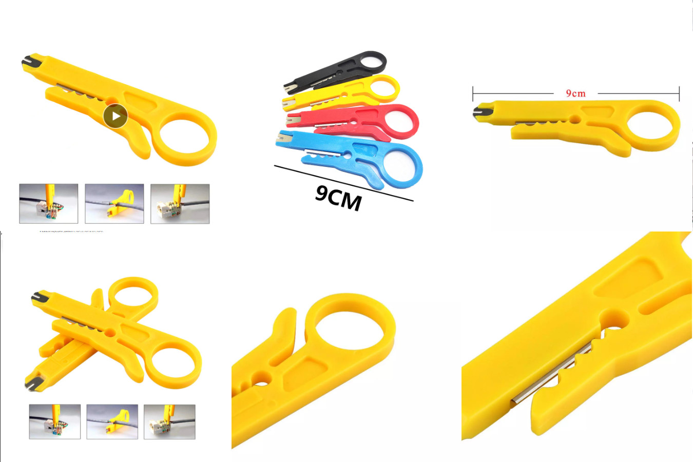 Мини-нож для зачистки проводов