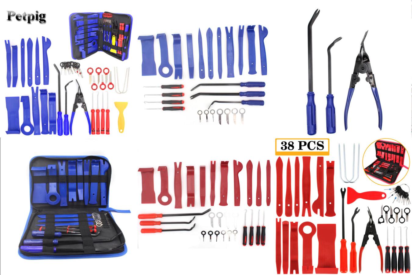 Набор инструментов для разборки дверей