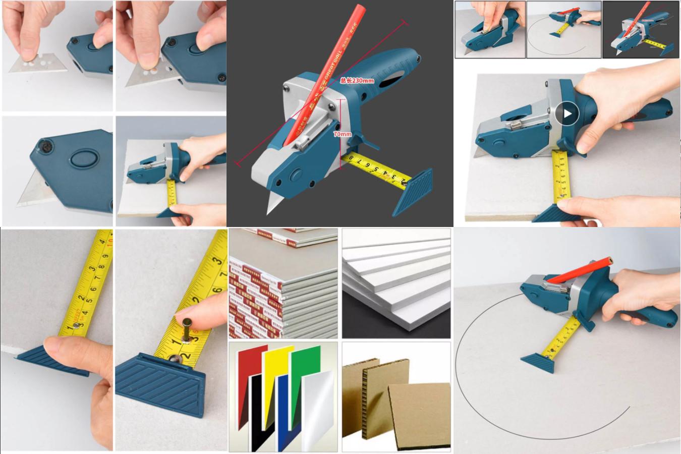 Инструмент для резки гипсокартонных плит