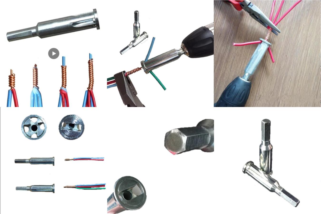 Инструмент для зачистки и скручивания проводов