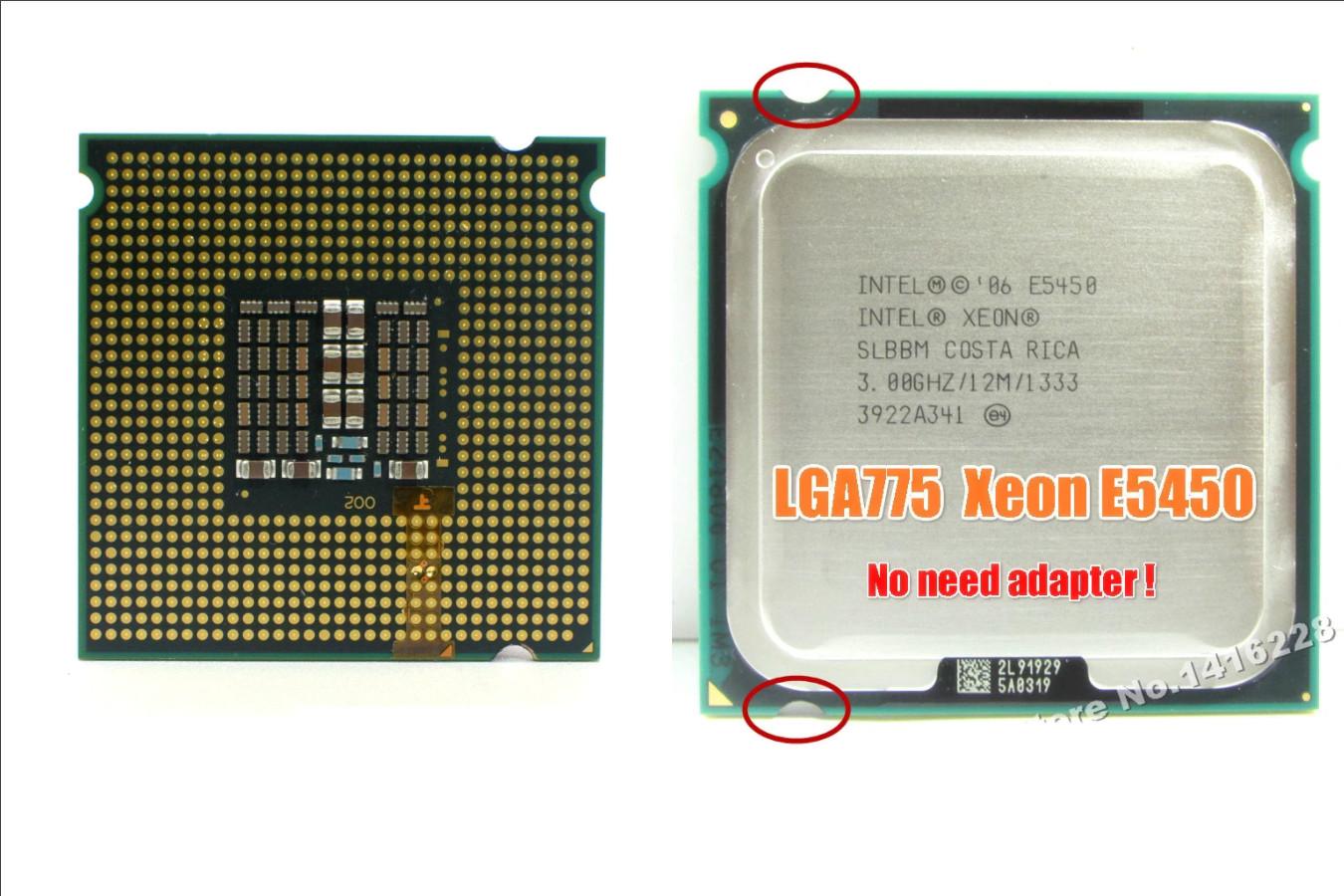 Качественный центральный процессор — Intel Xeon E5450