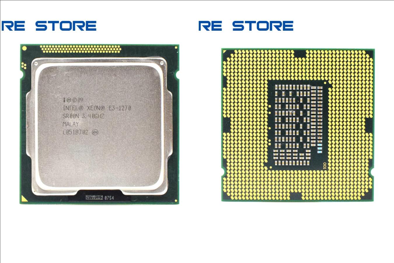 Хороший четырехъядерный процессор — Intel Xeon E3 1270