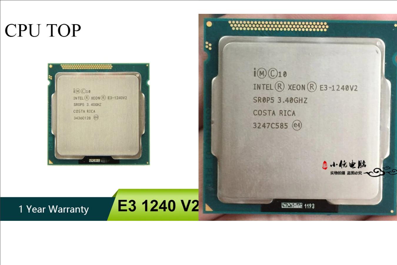 Качественный серверный процессор — Intel Xeon E3-1240 v2