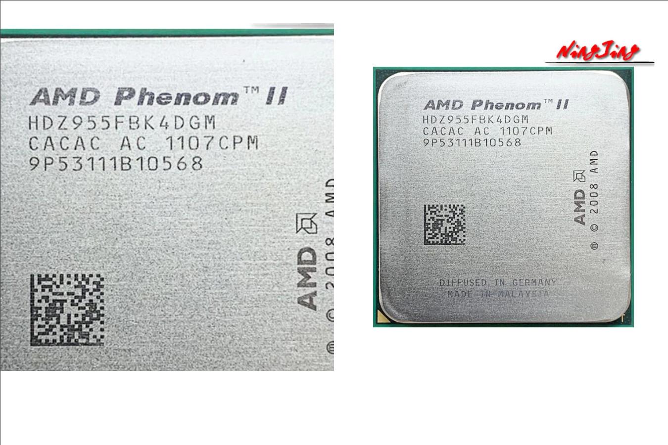 ЦПУ от производителя — AMD Phenom II X4 955