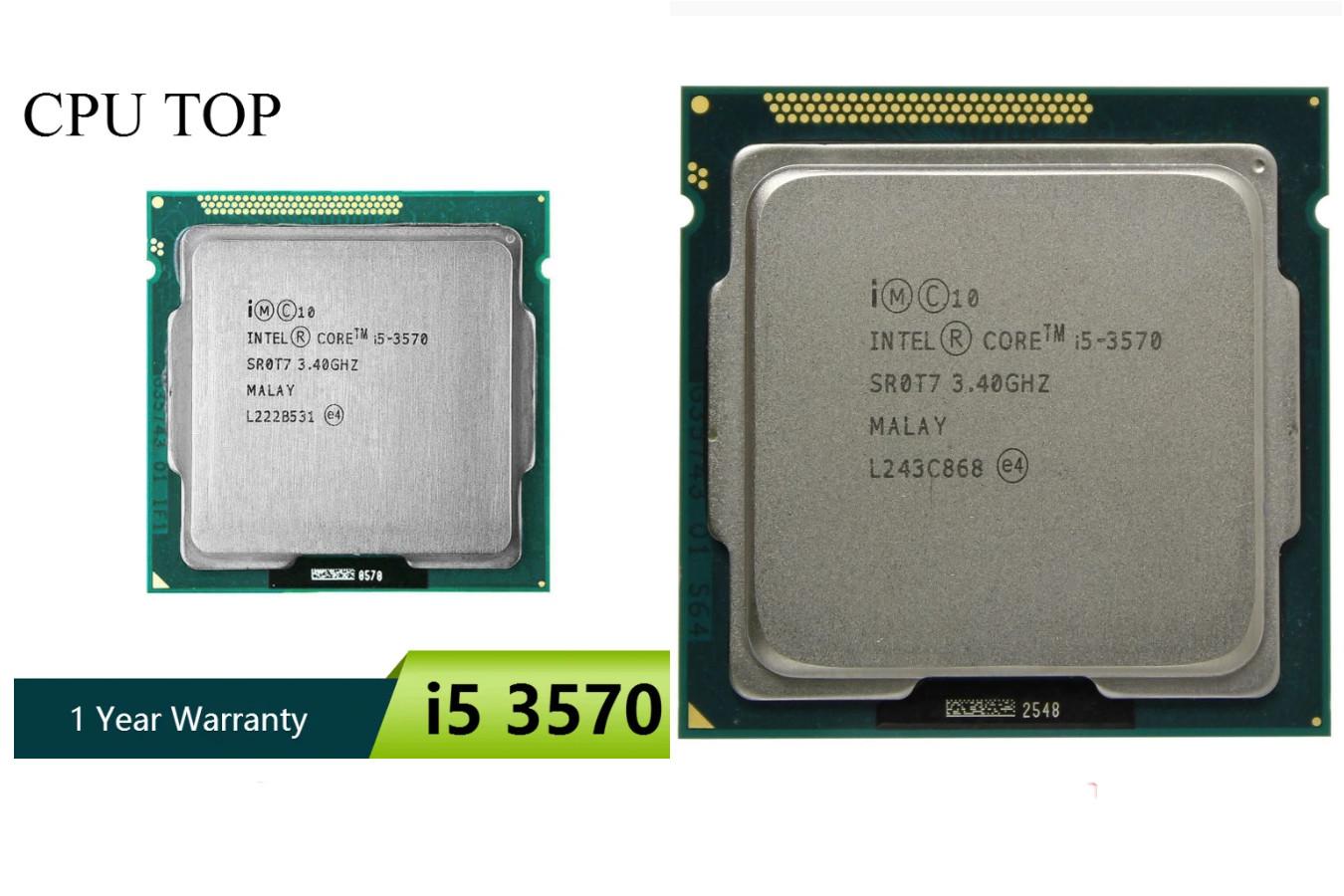 Лидер от Intel — Core i5 3570
