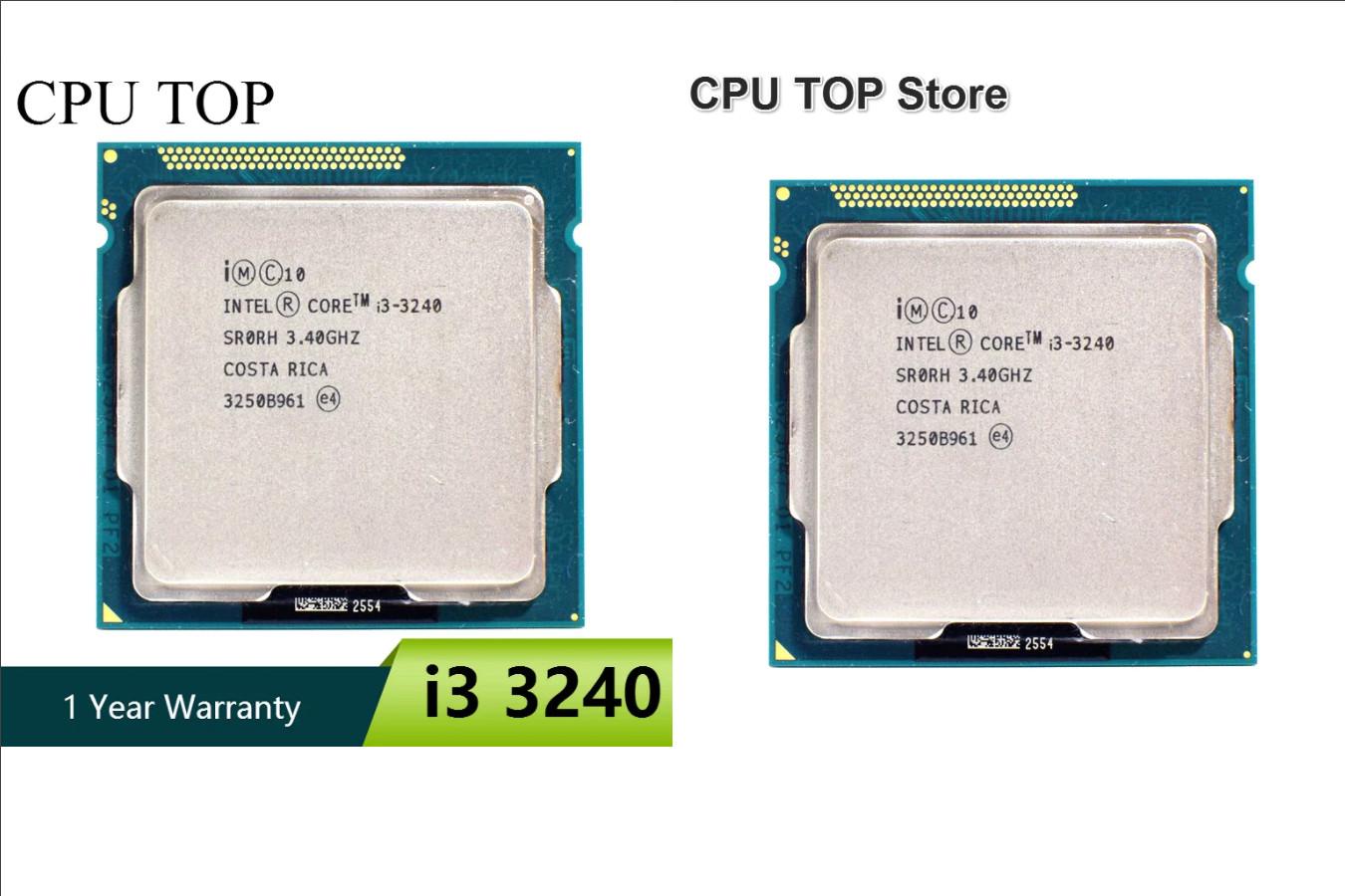 ЦПУ для настольного компьютера — Intel i3 3240