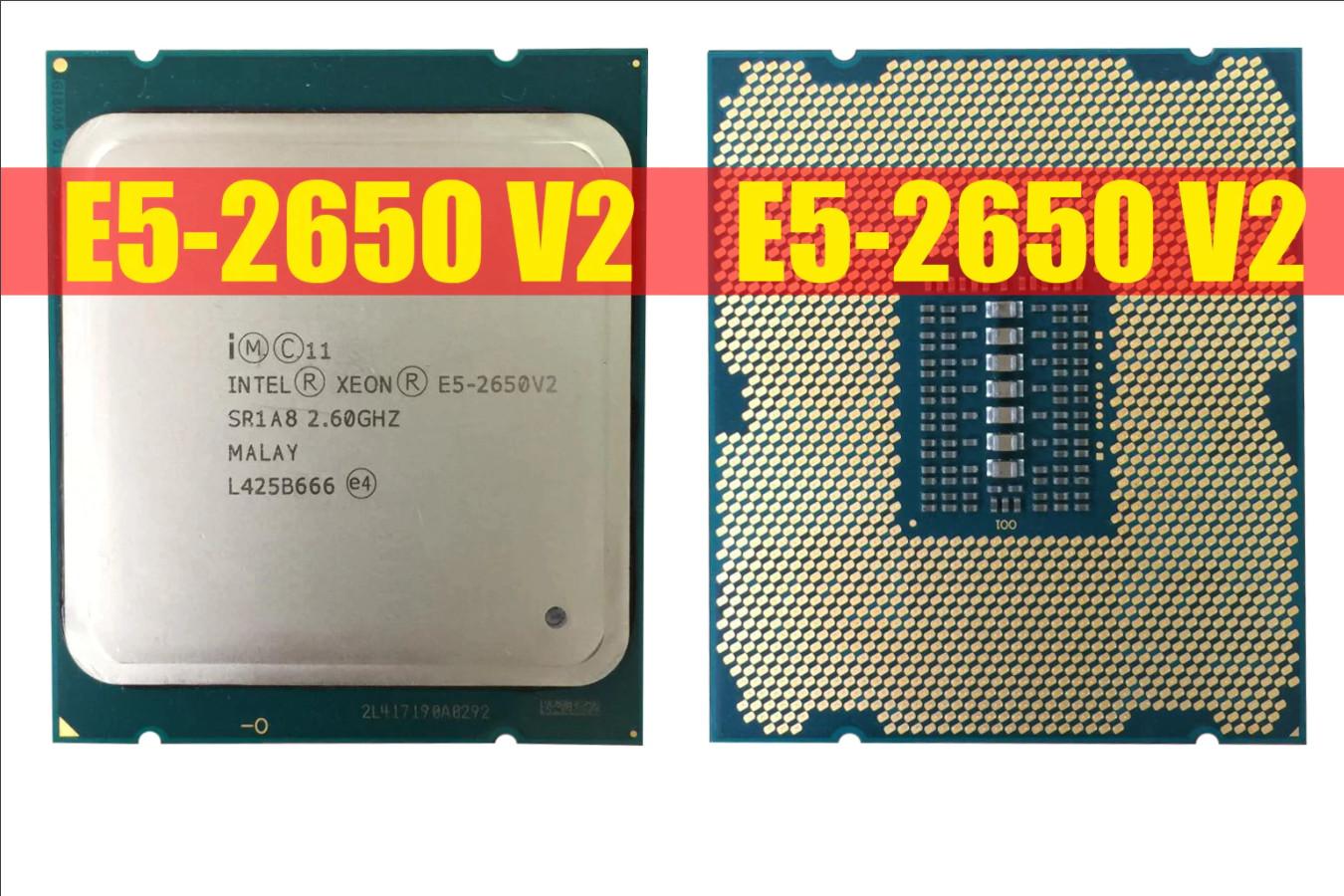 Серверное ЦПУ — Intel Xeon E5-2650 V2