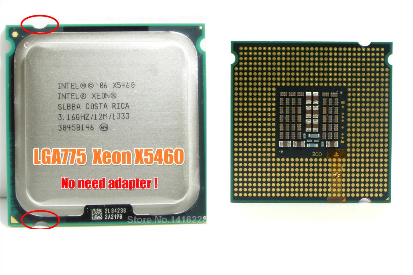 Прекрасный игровой процессор — Intel Xeon X5460