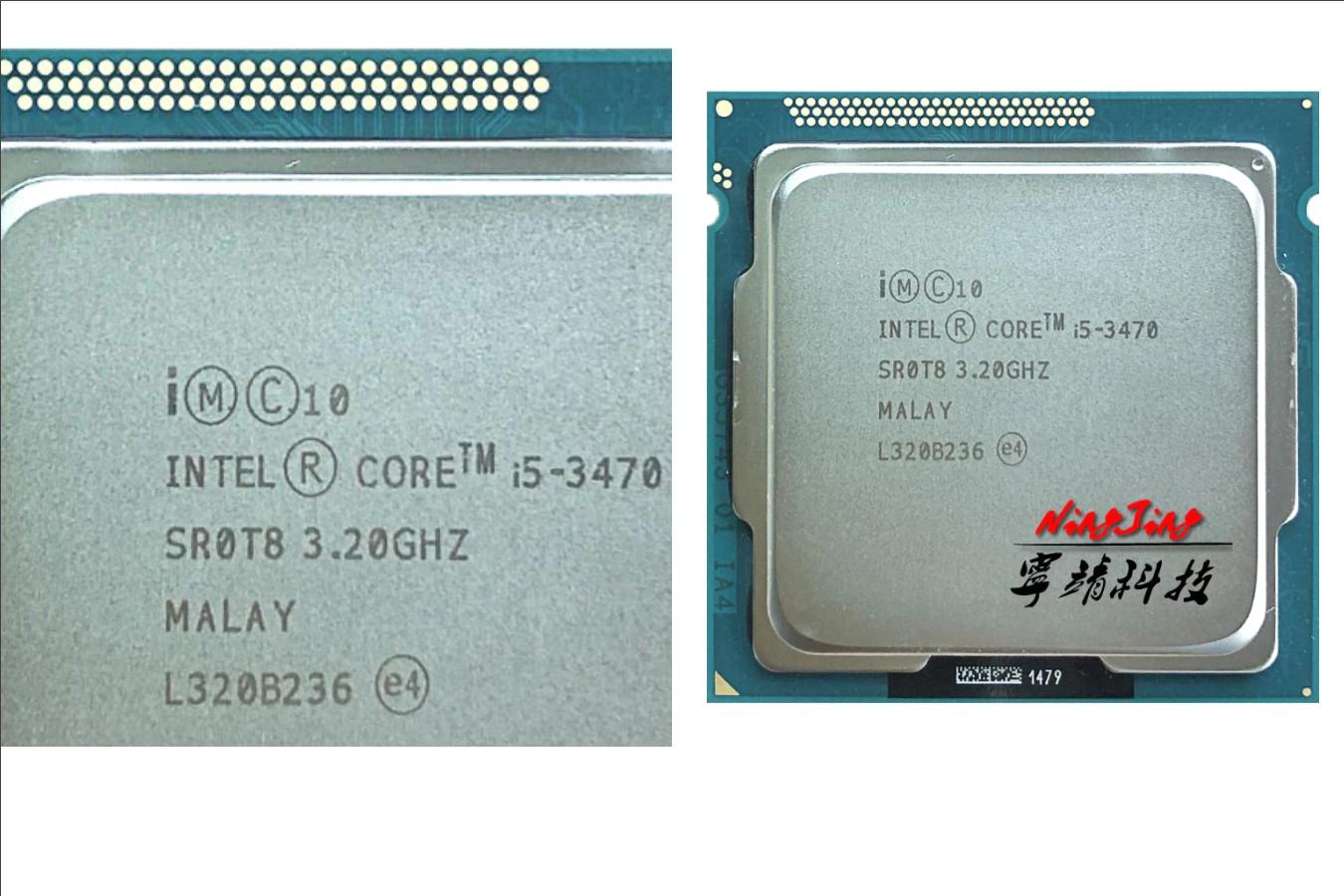 Качественно изготовленный процессор — Intel Core i5-3470