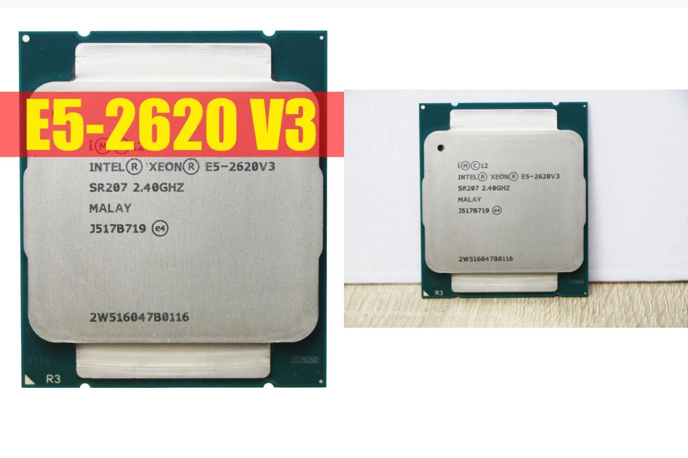 Хороший серверный процессор — Intel Xeon E5 2620 V3