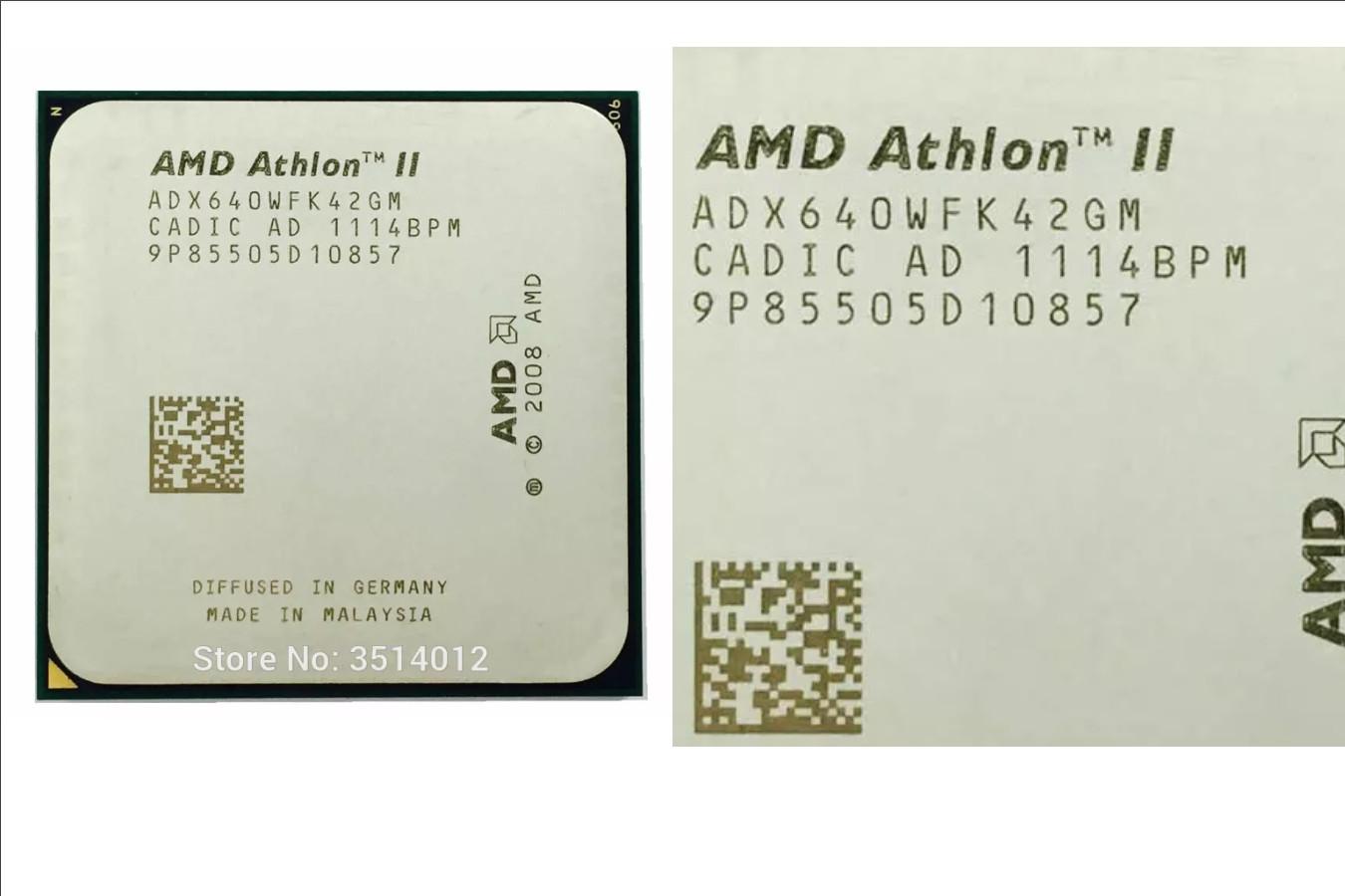 ЦПУ для рабочего компьютера — AMD Athlon II X4 640