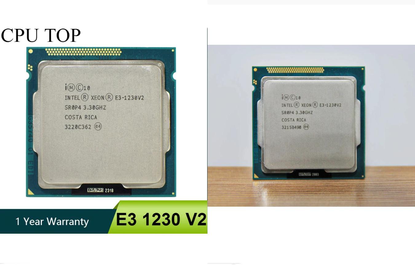 Процессор для сервера — Intel Xeon E3 1230 V2