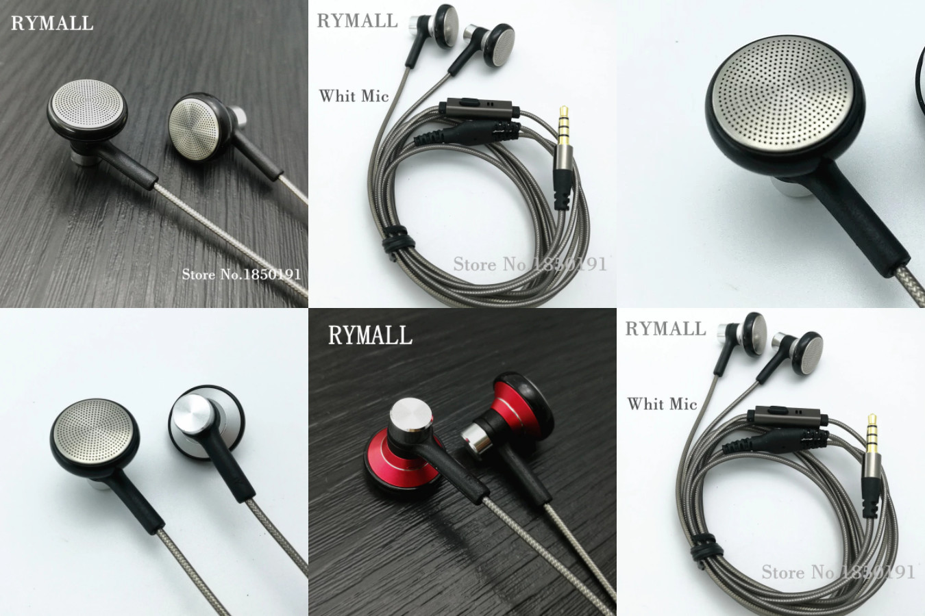 Вкладыши с микрофоном — RYMALL RY04