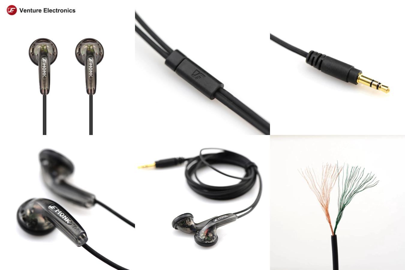 Наушники с чистым звучанием — Venture Electronics Monk Plus