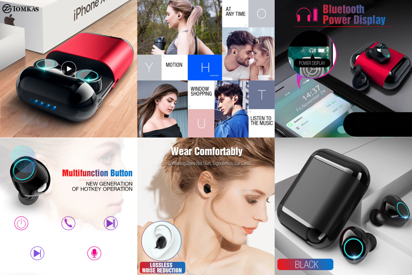 Гаджет для тренировок — Tomkas Bluetooth Headphones