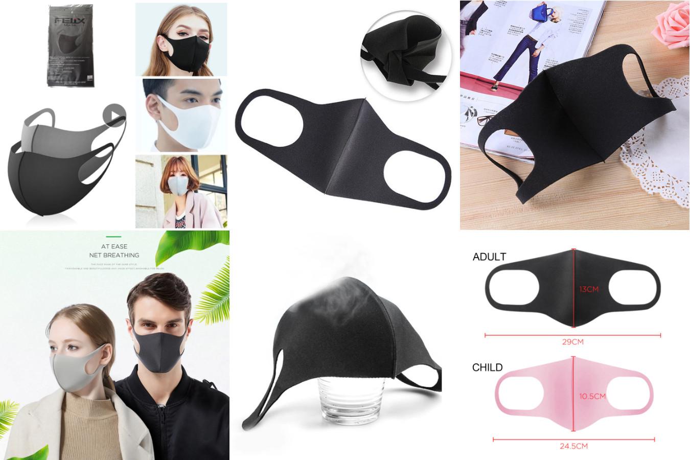 Пылезащитная маска для лица