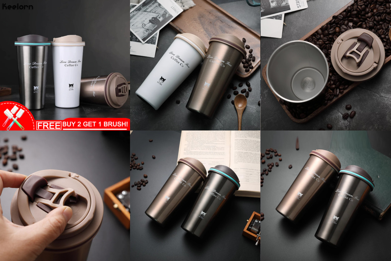 Термос для кофеманов — Keelorn