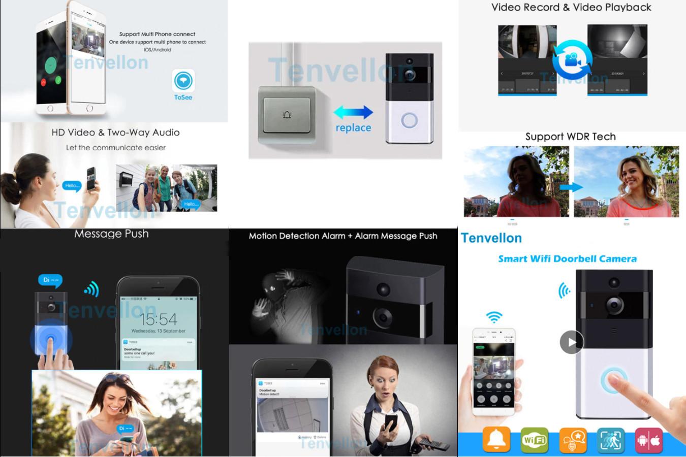 Видеодомофон со сканером пальца - OBO HANDS Wi-Fi