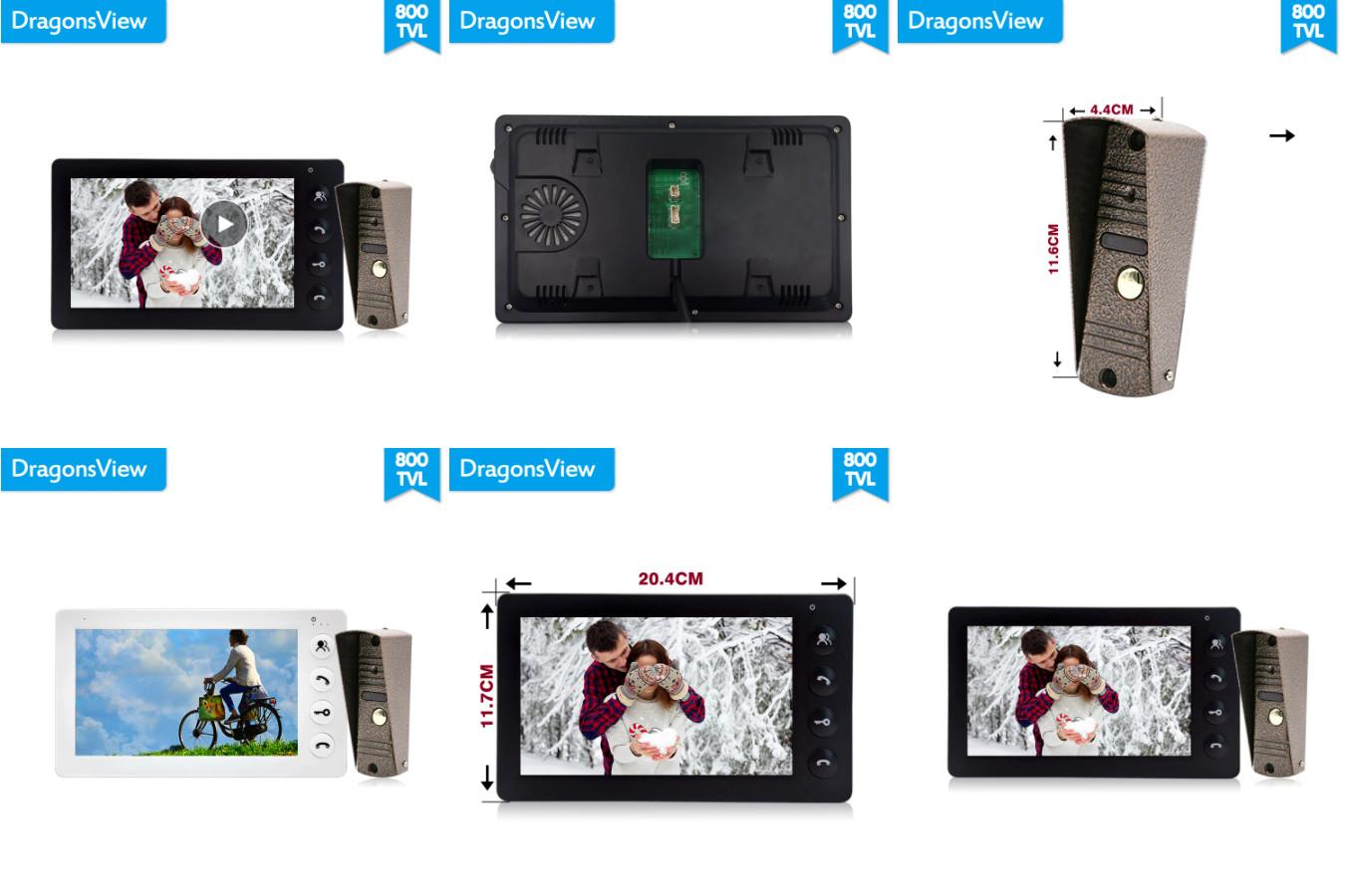 Девайс с поддержкой SD-карт — DragonsView YS-D7E/F-P21GE