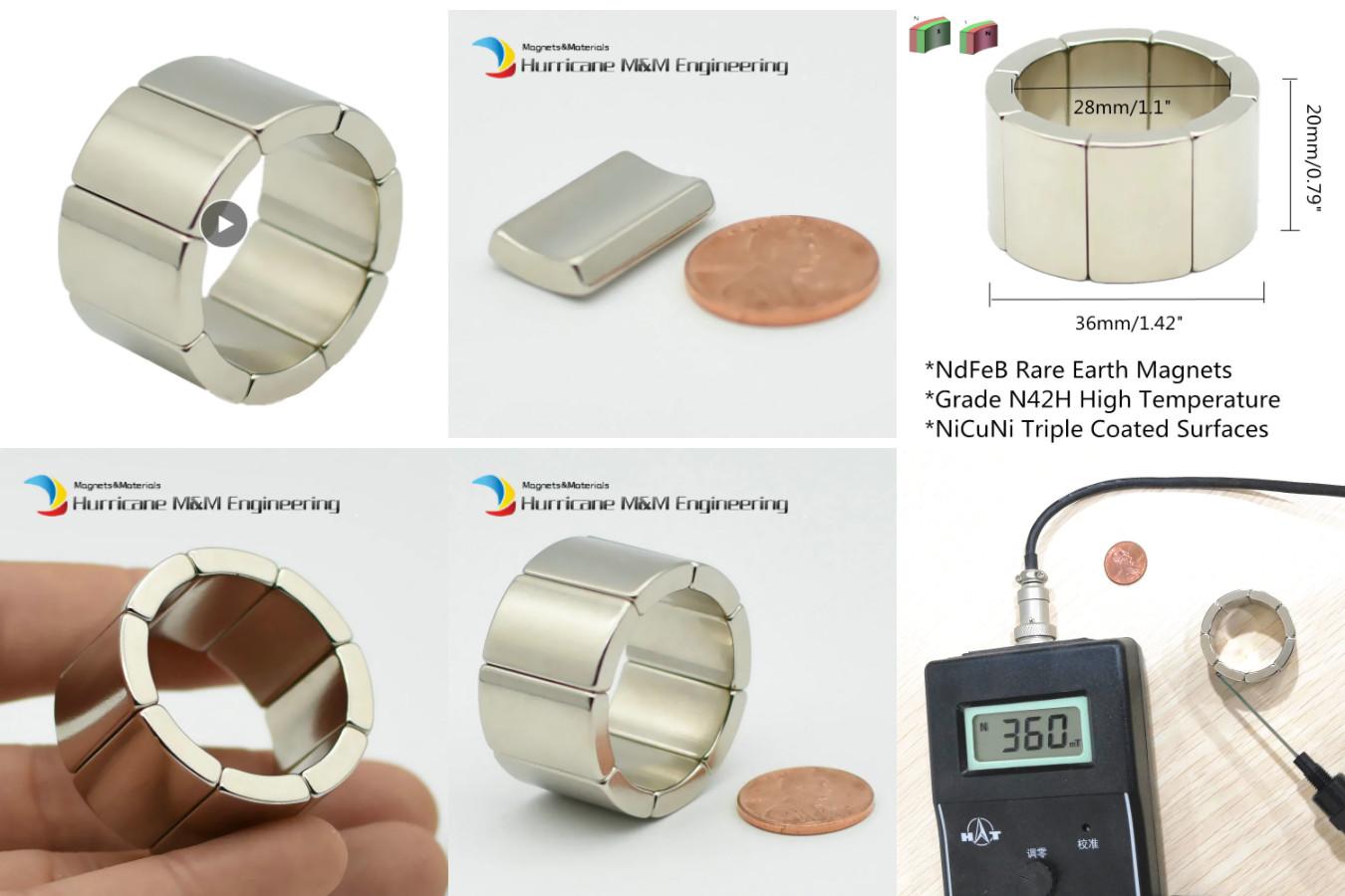 Неодимовое кольцо для ремонта ротора