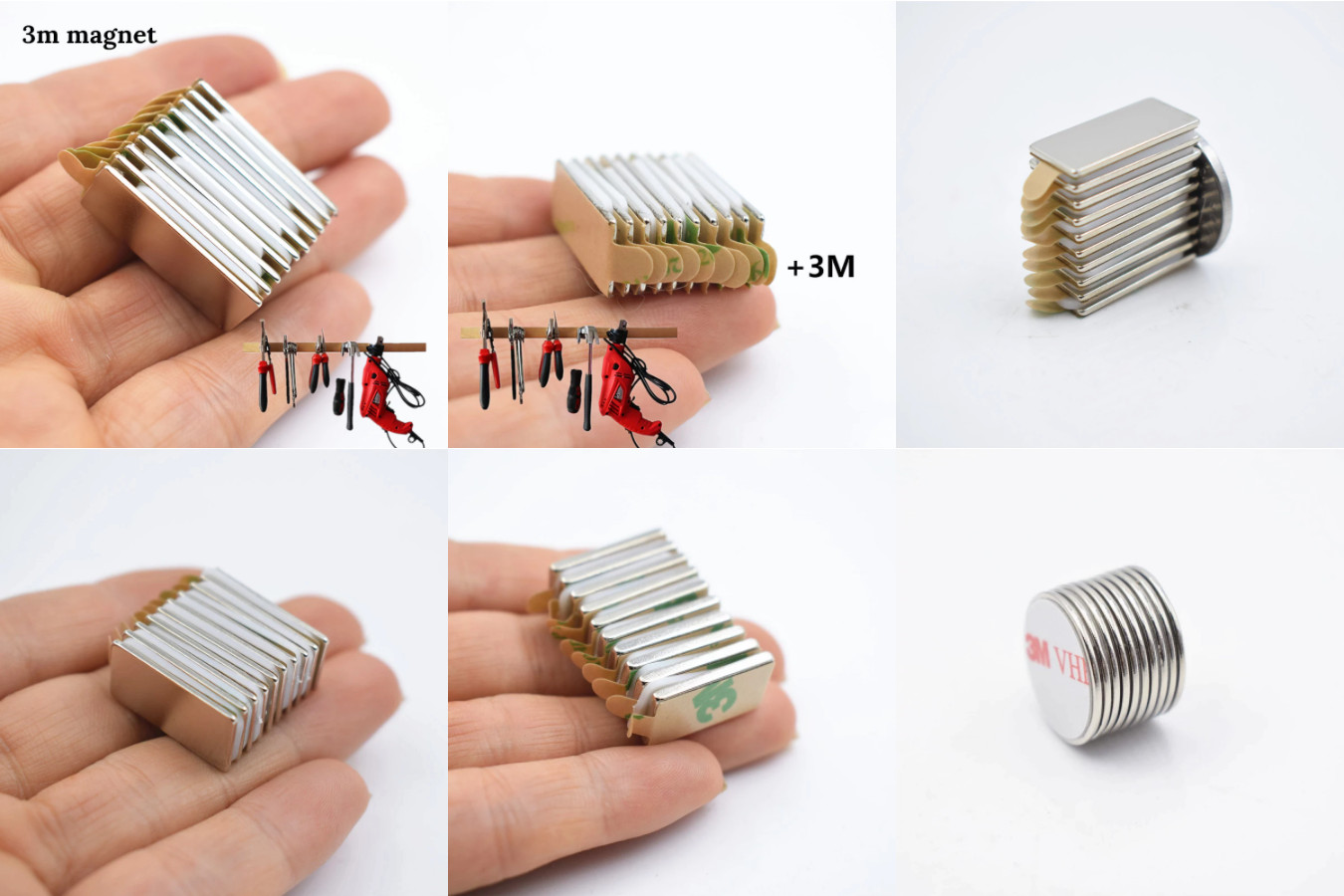 Небольшие, но при этом одни из самых мощных неодимовых магнитов в подборке