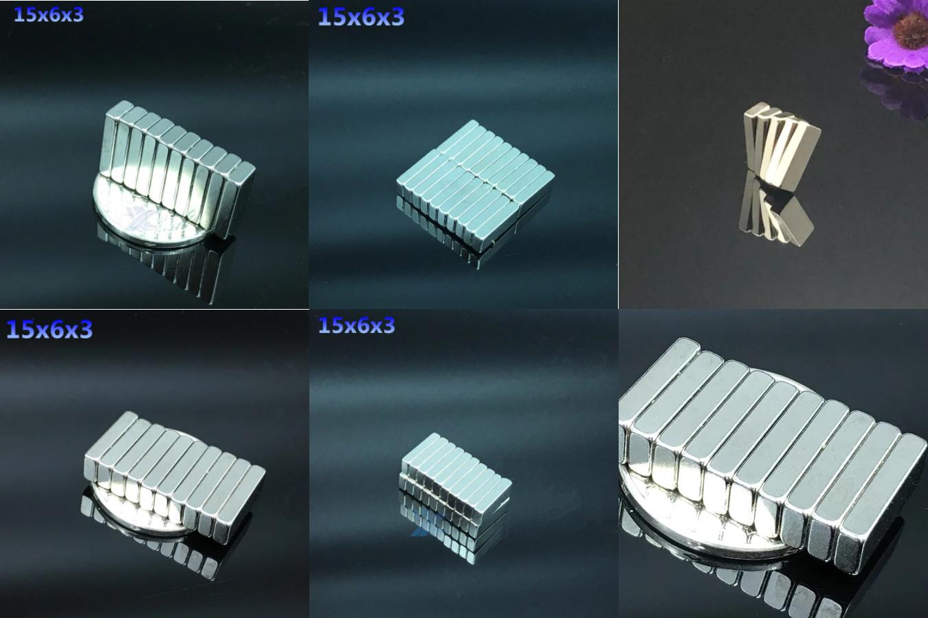 Неодимовые магниты прямоугольной формы для использования в быту