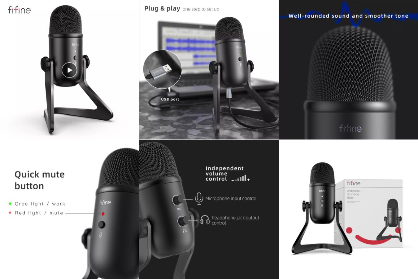 Микрофон с необычным дизайном