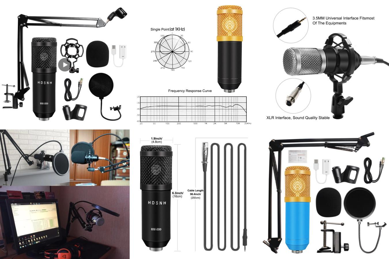Микрофон, для тех кто хочет профессионально заниматься музыкой