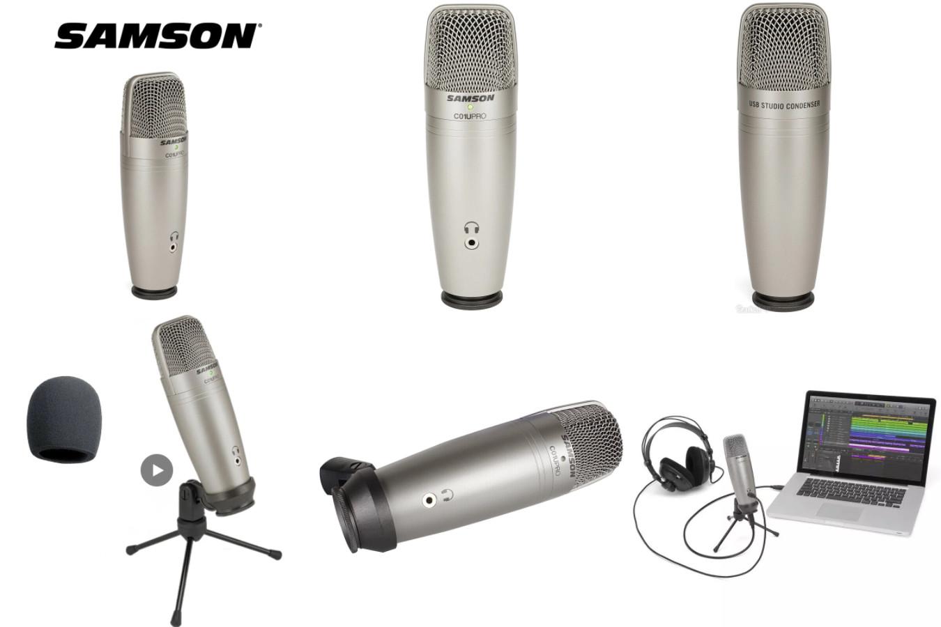 Микрофон к которому также можно подключить наушники