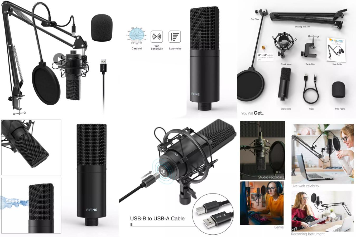 Отличный качественный микрофон