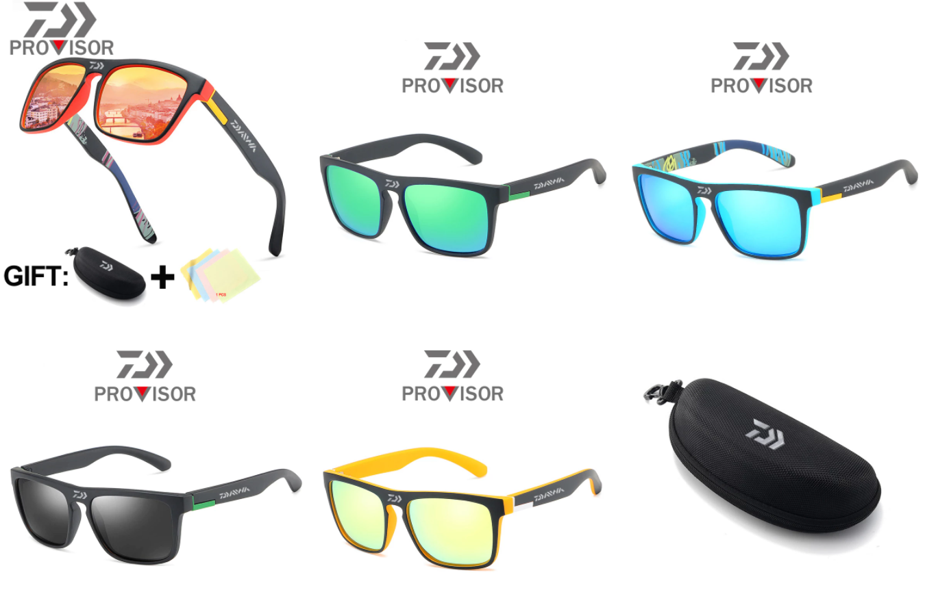 Качественно сделанные солнцезащитные очки
