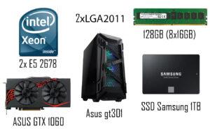 Сборка ПК на 2-х процессорах