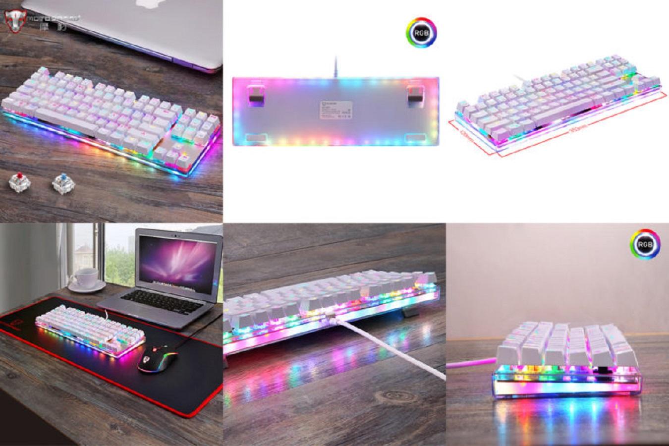 Качественная игровая клавиатура небольшого размера