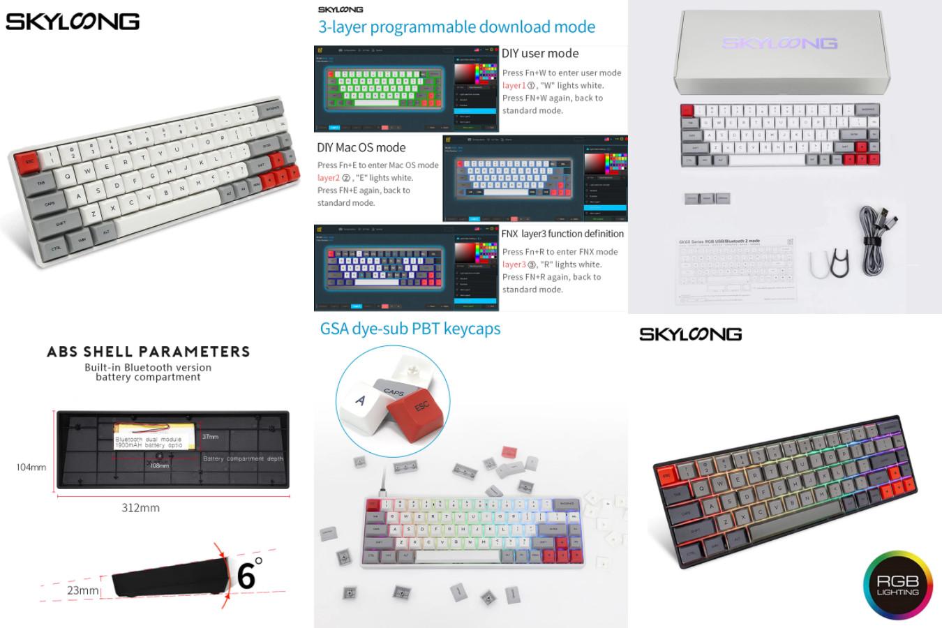 Клавиатура с RGB-подсветкой