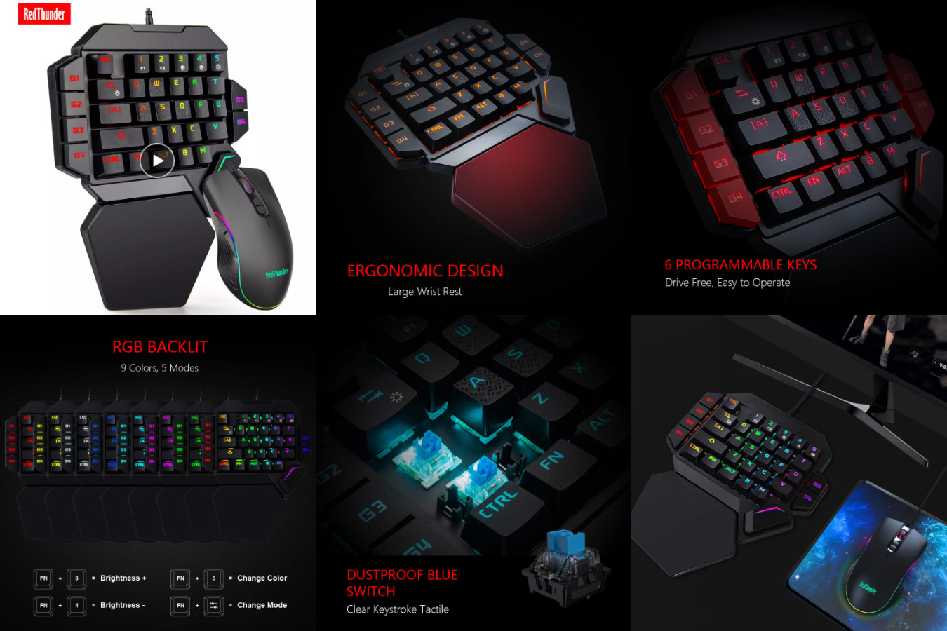 Клавиатура с мышью в комплекте