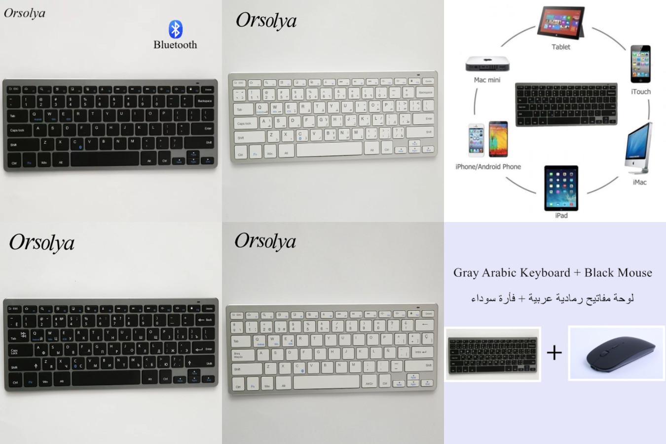 Одна из лучших мультиязычных клавиатур с алиэкспресс