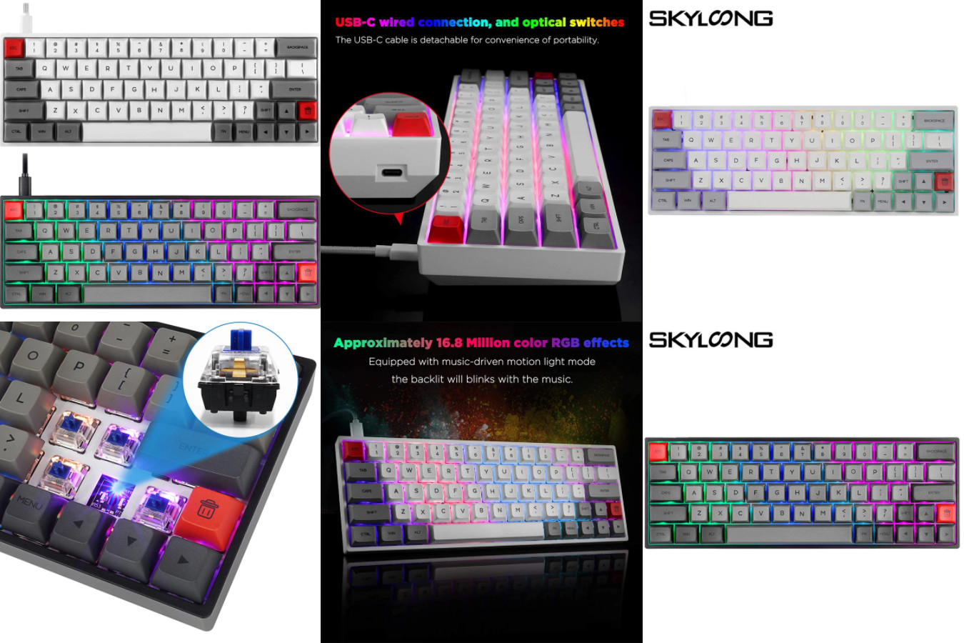 Мини-клавиатура для игр