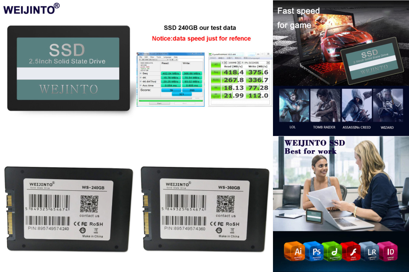 Очень качественный SSD-накопитель