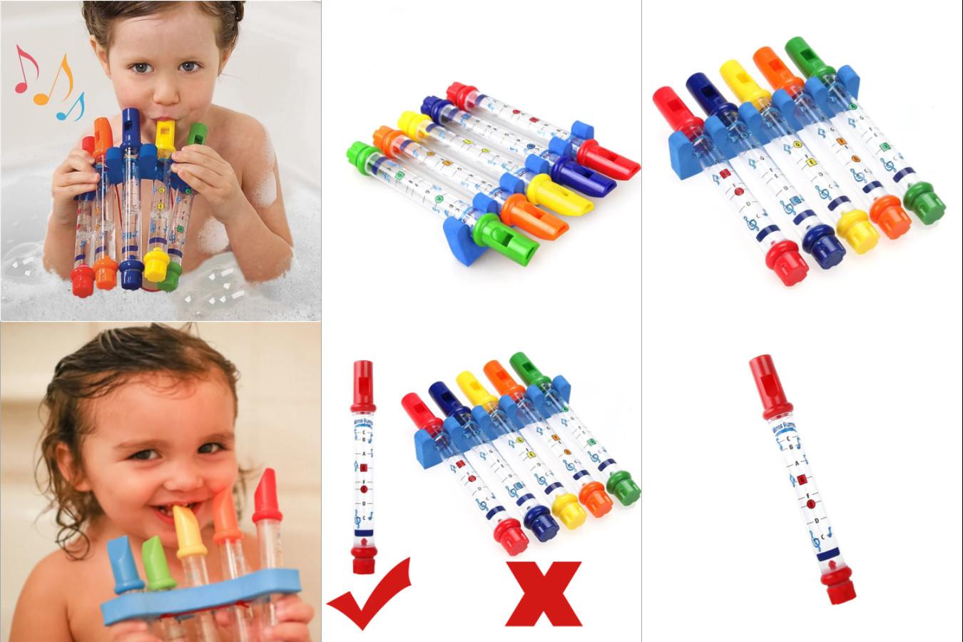 Флейта для детей с водой