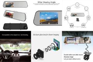 Зеркало-видеорегистратор ADDKEY cam