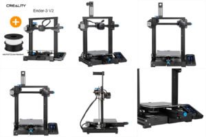 3d - принтер CREALITY 3 Ender-3 V2 Wi-Fi