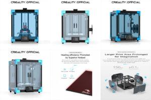 3D-принтер CREALITY New Core-XY Ender-6 Large